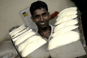 The bakery trade is very popular among the former fighters and offers the best prospects for the future.